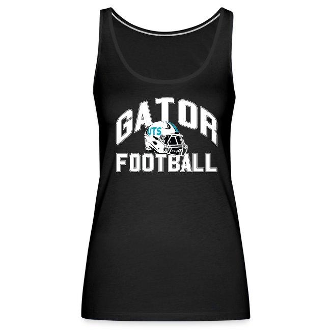 Women's UTS Gator Football Tank Top - Black