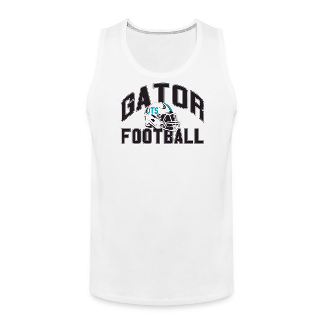 Men's UTS Gator Football Tank Top - White