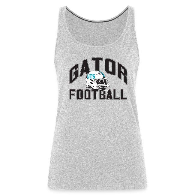 Women's UTS Gator Football Tank Top - Gray