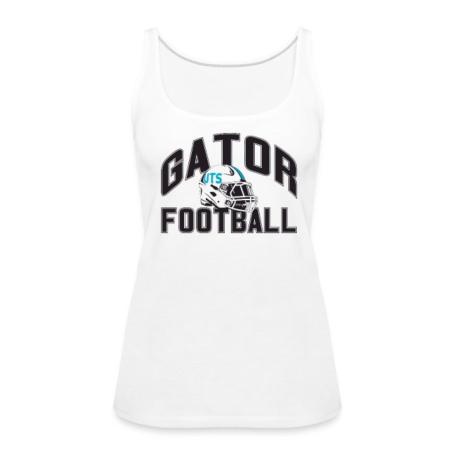 Women's UTS Gator Football Tank Top - White