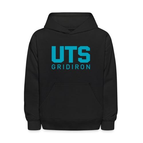 Kid's UTS Gridiron Hoodie - Black - Kids' Hoodie