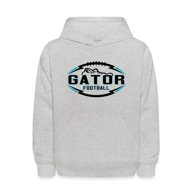 Kid's UTS Gator Hoodie - Gray