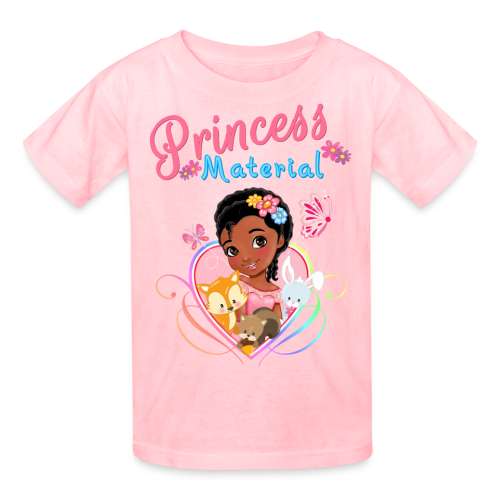Princess Material - Kids' T-Shirt