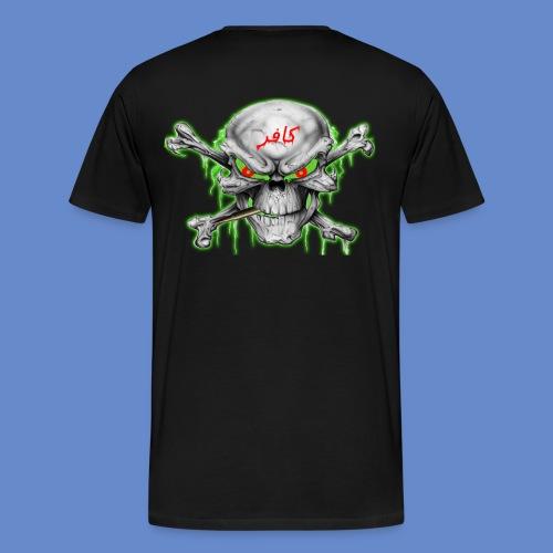 Infidel Skull T-Shirt Plus Sizes - Men's Premium T-Shirt