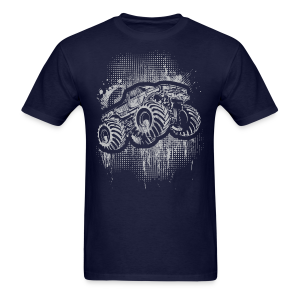 Monster Truck Grungy - Men's T-Shirt