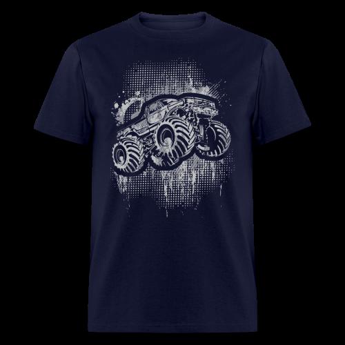 Monster Truck Grungy - Men's T-Shirt