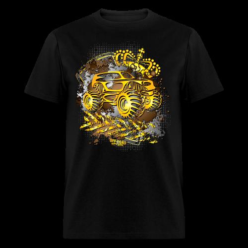 Golden Monster Truck Shirt - Men's T-Shirt