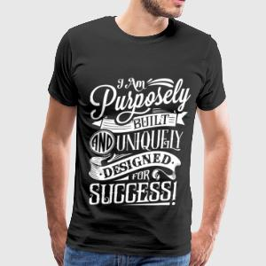Men's Purpose Tee - Black - Men's Premium T-Shirt
