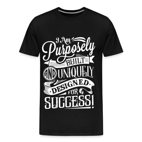 Men's Purpose Tee Black - Men's Premium T-Shirt