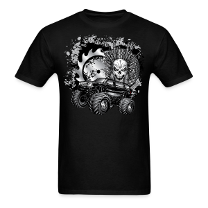 Matallic Monster Truck Shirt - Men's T-Shirt