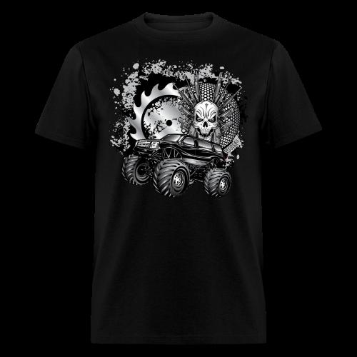 Matallic Monster Truck Shirt - Men's T-Shirt