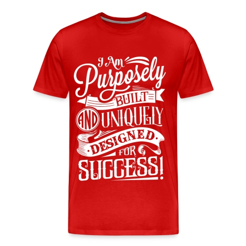Men's Purpose Tee Red - Men's Premium T-Shirt