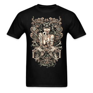 Tattooed Girl Men's T-Shirt - Men's T-Shirt