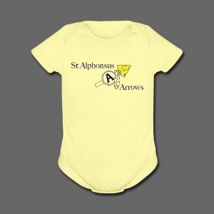 St. Alphonsus Arrows - Short Sleeve Baby Bodysuit