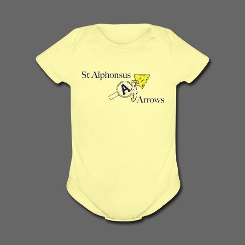 St. Alphonsus Arrows - Short Sleeve Baby Bodysuit
