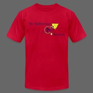 St. Alphonsus Arrows - Men's Fine Jersey T-Shirt