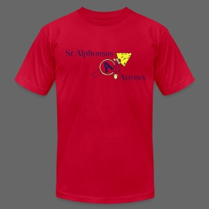 St. Alphonsus Arrows - Men's Fine Jersey T-Shirt