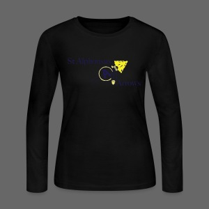 St. Alphonsus Arrows - Women's Long Sleeve Jersey T-Shirt