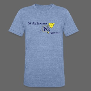 St. Alphonsus Arrows - Unisex Tri-Blend T-Shirt by American Apparel