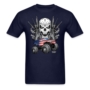 Monster Truck Shirt USA - Men's T-Shirt