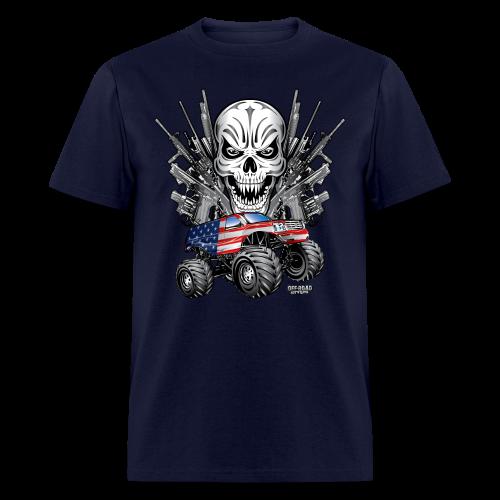 Monster Truck Shirt USA - Men's T-Shirt