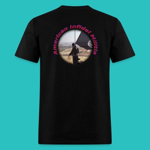 American Infidel Militia - Men's T-Shirt