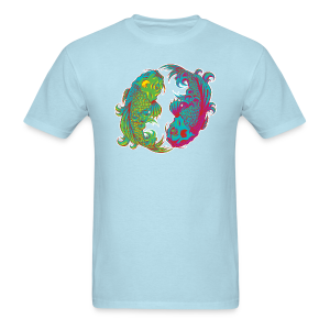 Yin Yang Koi - Men's T-Shirt