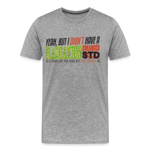 Brotherhood REDACTED - Rad STD - Men's Premium T-Shirt