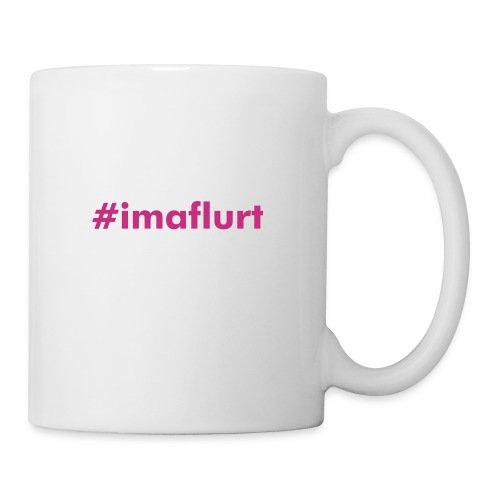 #imaflurt Mug, White - Coffee/Tea Mug