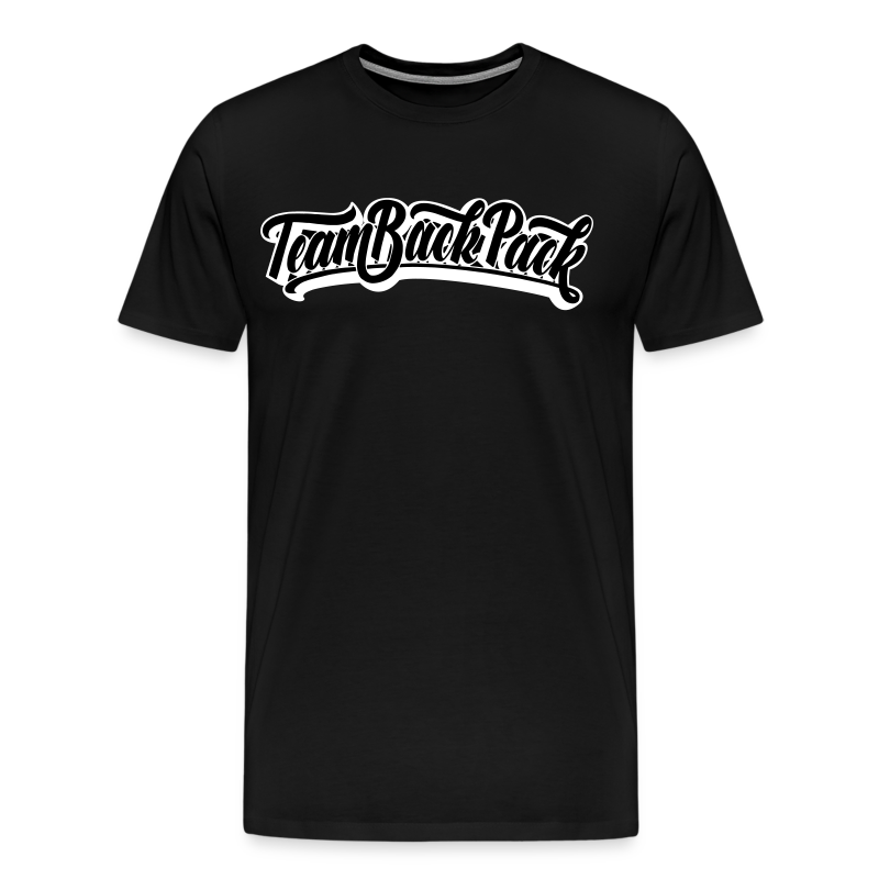 TeamBackpack Script Tee - Men's Premium T-Shirt