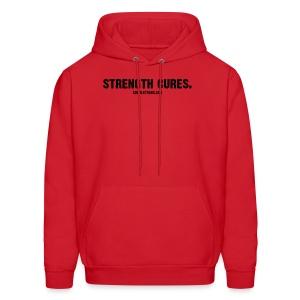 Strength Cures. [M] Regular Hoodie - Men's Hoodie