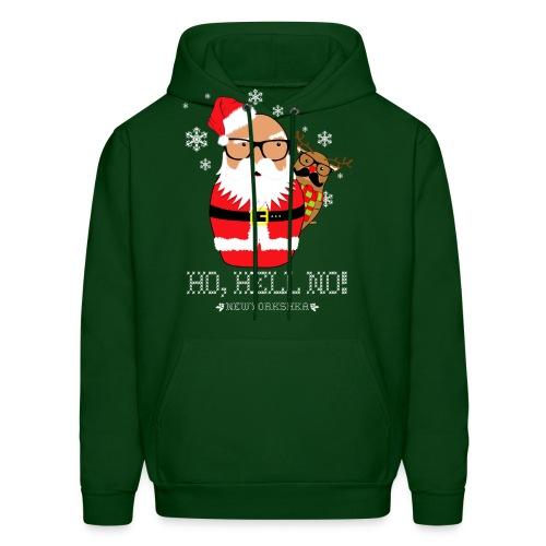 Shady Santa Hoodie - Men's Hoodie