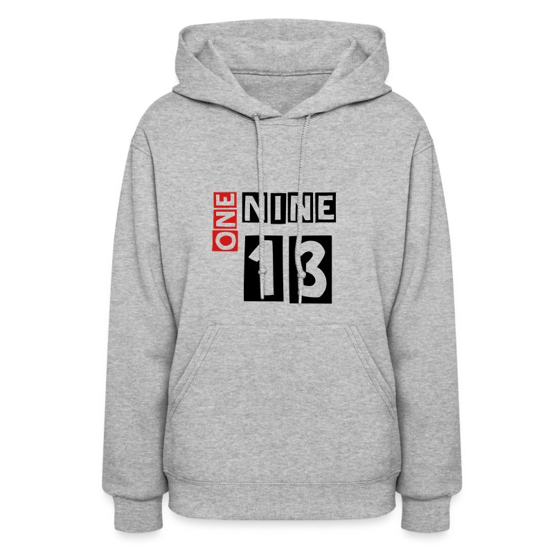 1913 Delta Sigma Theta - red and black lettering women's sweatshirt - Women's Hoodie