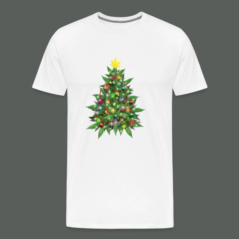 Marijuana Christmas Tree T-Shirt