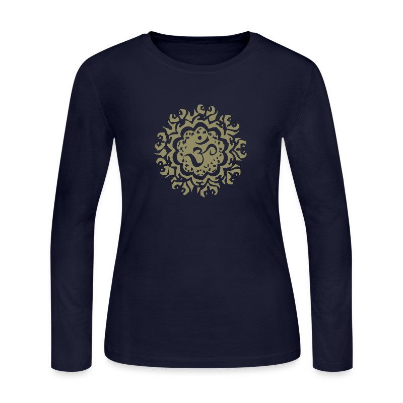 Ancient Om - Ladies Long Sleeve - Women's Long Sleeve Jersey T-Shirt