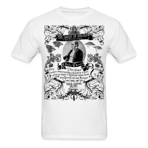 Charles Darwin Origin of Species graphic tee - Men's T-Shirt