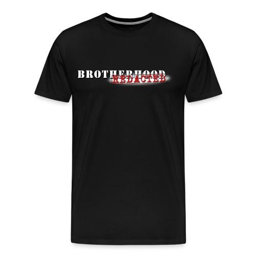 Brotherhood REDACTED - Logo Tee - Men's Premium T-Shirt