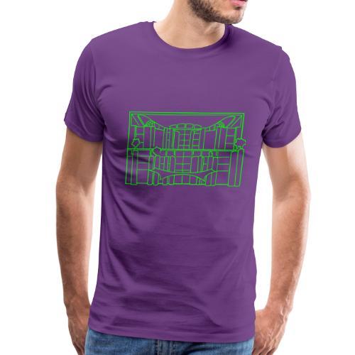 Chancellery in Berlin - Men's Premium T-Shirt