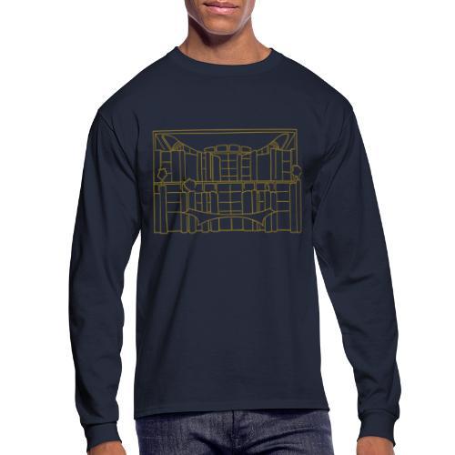 Chancellery in Berlin - Men's Long Sleeve T-Shirt