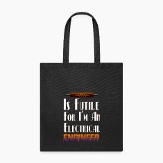 Electrical Resistance Futile Engineer Tote Bag