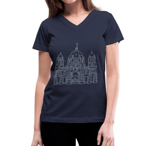 Berlin Cathedral - Women's V-Neck T-Shirt