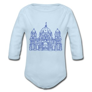 Berlin Cathedral - Long Sleeve Baby Bodysuit