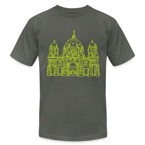 Berlin Cathedral - Men's Fine Jersey T-Shirt