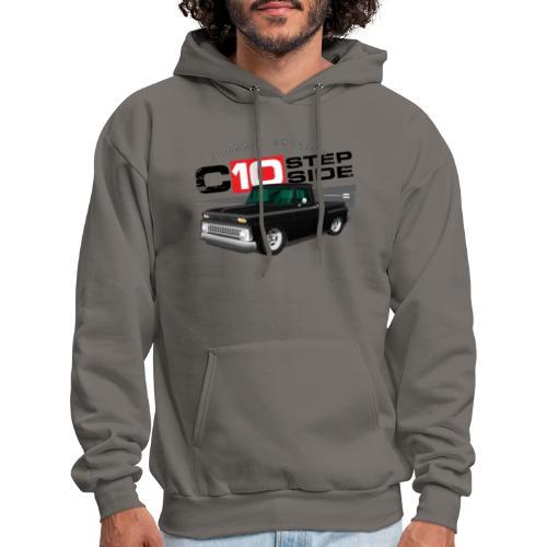 C10 Stepside Black PREMIUM ART Hooded Sweatshirt - Men's Hoodie