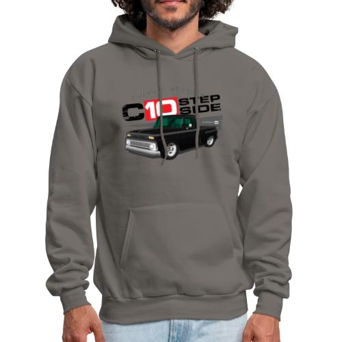 C10 Stepside Black PREMIUM ART Hooded Sweatshirt - Men's Hoodie