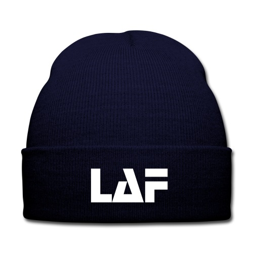 Men's LAF Beanie - Knit Cap with Cuff Print