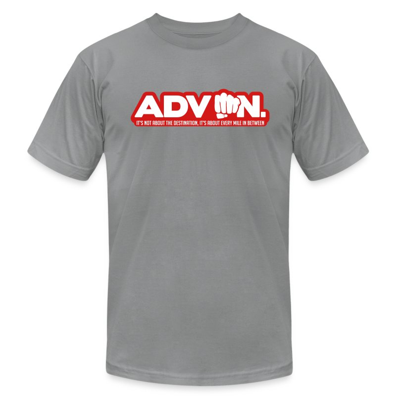 ADV On Every Mile 16 - Men's T-Shirt by American Apparel