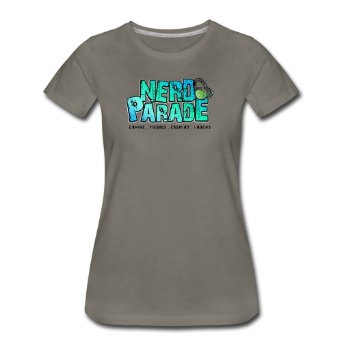 Nerd Parade Logo Shirt - Women's - Women's Premium T-Shirt