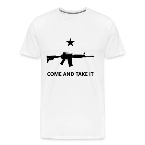 Come and Get It AR-15 - Men's Premium T-Shirt