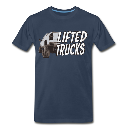 Lifted Trucks - Men's Premium T-Shirt